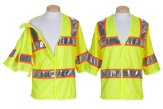 High Visibility Safety-tear-away-vests