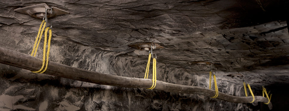 CAB Rope Hanger Mining Application