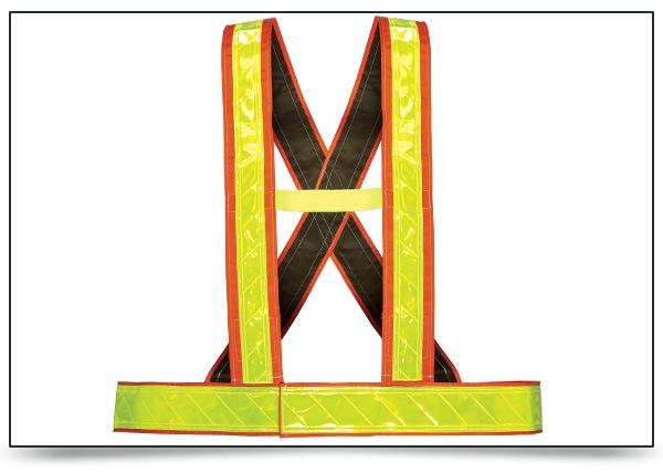 High Contrast Safety Belt Harness