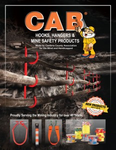CAB Hooks, Hangers and Safety Products Catalog for Mining and Tunneling Industries