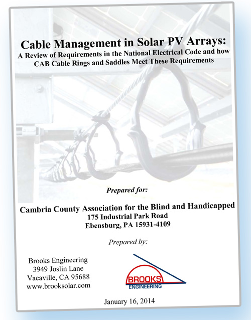 Cover of White Paper by Brooks Engineering