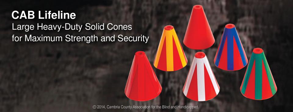 Photo of CAB Sturdy Solid Lifeline Conespf