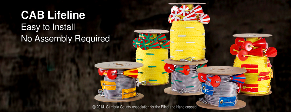 Spools of CAB Lifeline No Assembly Required