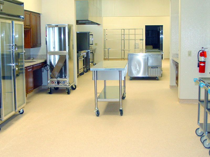 Kitchen adjoining new CCABH Banquet Hall
