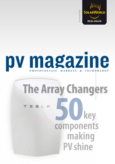 PV Magazine article on new technology - 50 Array Changers