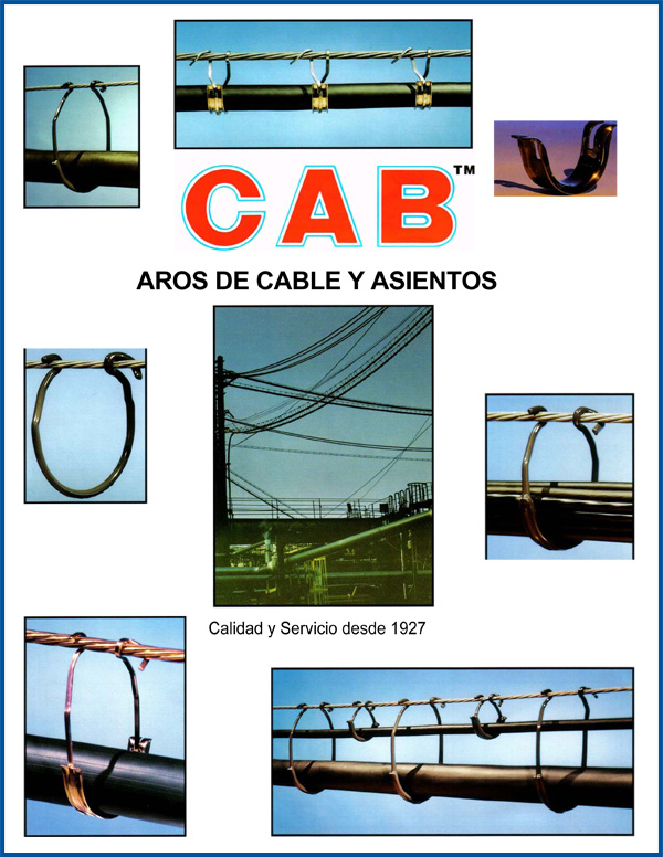 Cover of Spanish Language Literature about CAB Cable Rings and Saddles