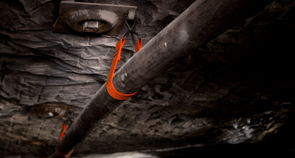 CAB Webbing Hanger Coal Mine Application