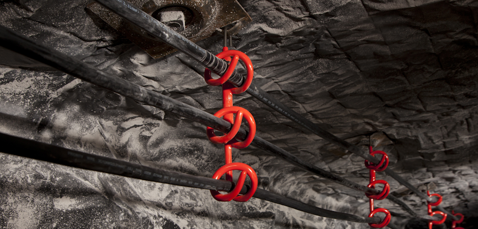 CAB Multi Carrier Telewire Hook Coal Mine Application