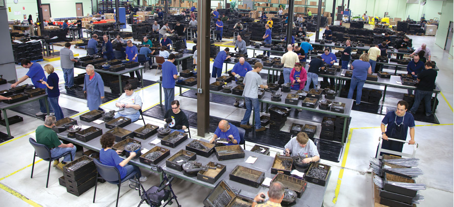 CCABH manufacuring, metals forming workplace in Ebensburg, PA