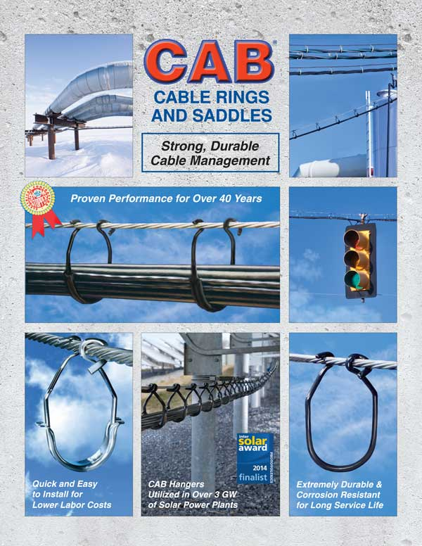 Cover 2017 Literature CAB Cable Rings and Saddles