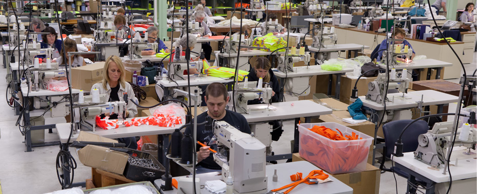 CCABH sewing department in Johnstown PA