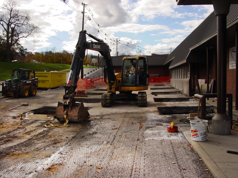 Parking Lot Resurfacing at Cambria County Assn. for the Blind and Handicapped, Johnstown, PA