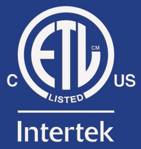 Intertek ETL Listed US and Canada Insignia