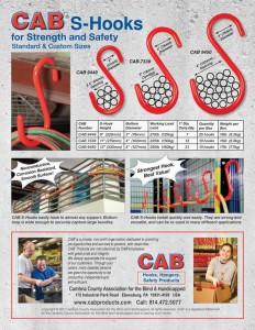 CAB S-Hook Brochure 2017 Back