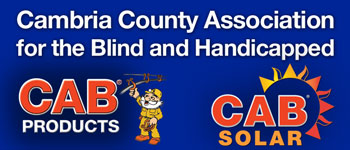 Cambria County Association for the Blind and Handicapped Mobile Logo