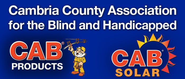 Cambria County Association for the Blind and Handicapped Mobile Retina Logo