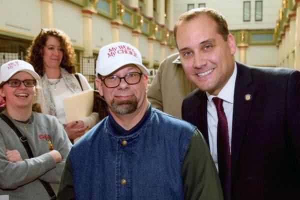 CAB employee with PA State Senator Wayne Langerholc