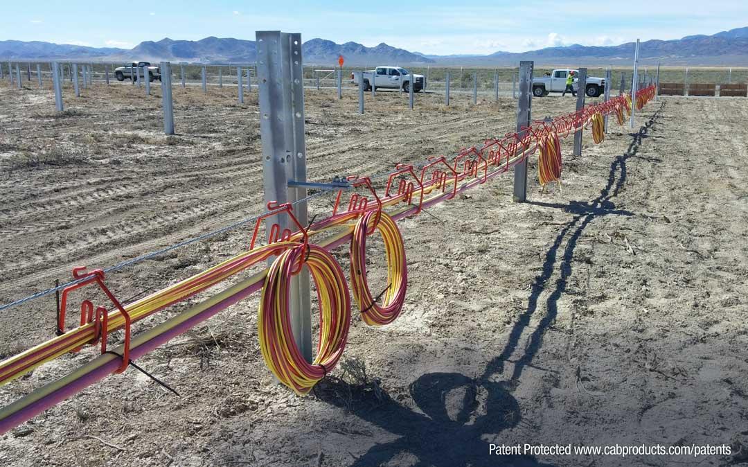 Installing Cab Solar Hangers in Utah Dessert