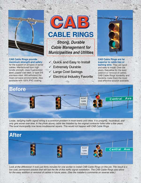 CAB Cable Rings for Municipalities 2017