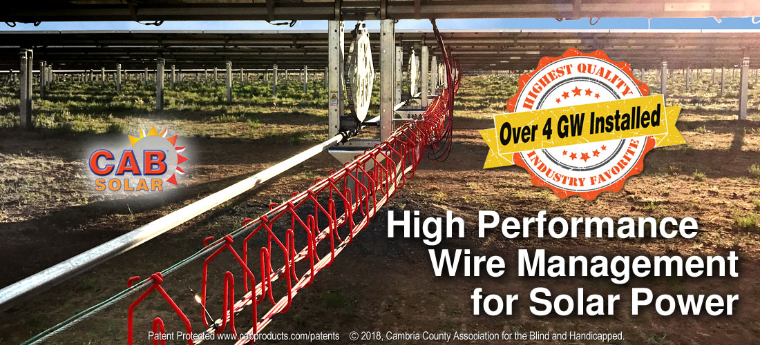 Wire Management Solar Power over 4 GW Installed