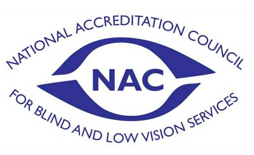National Accreditation Council for Blind and Low Vision Services logo