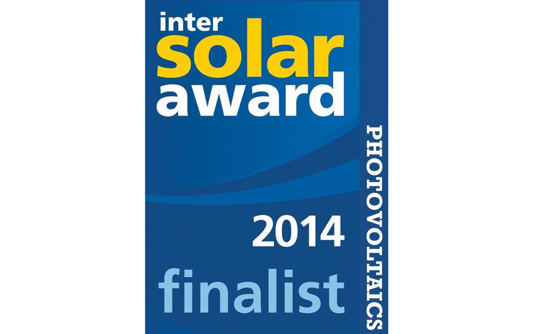 Intersolar 2014 Award Finalist