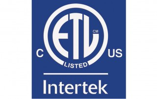 ETL Intertek Safety Listing Canada and US