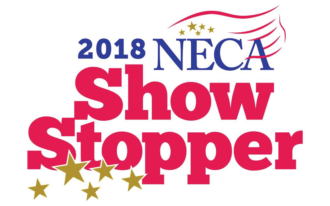 2018 NECA Showstopper Award Icon