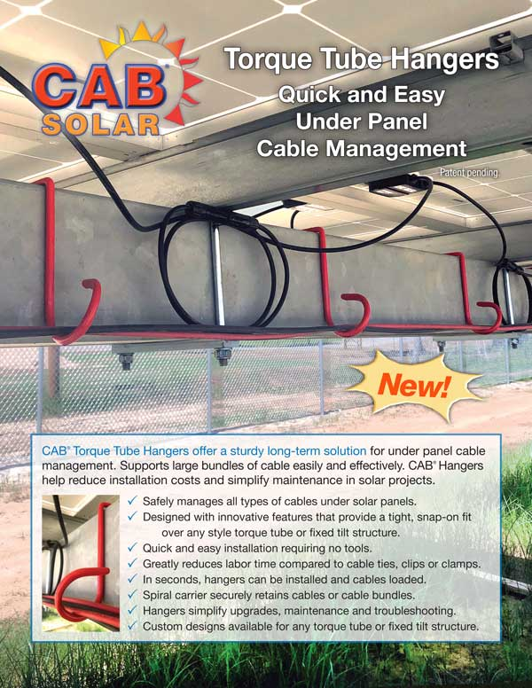 CAB Solar Torque Tube Hangers Page 1