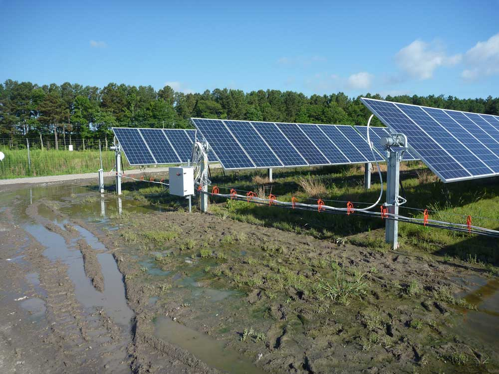 CAB Solar Prevents Expensive Delays Caused by Flooded Trenches or Deep Mud