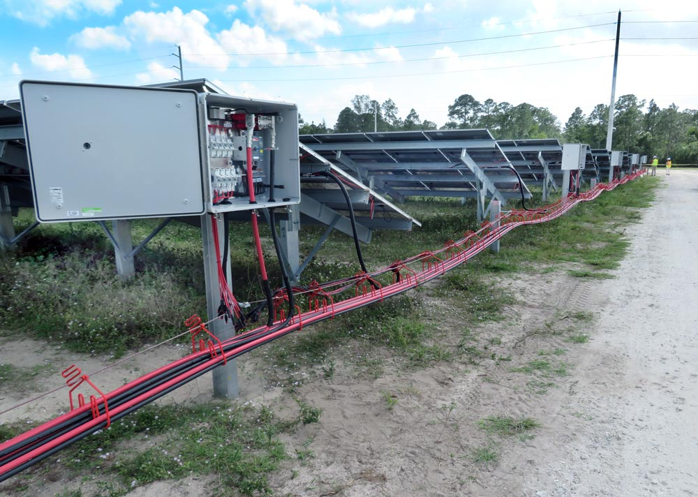 CAB Solar Reduces Installation Time Compared to Cable Tray or Trenching