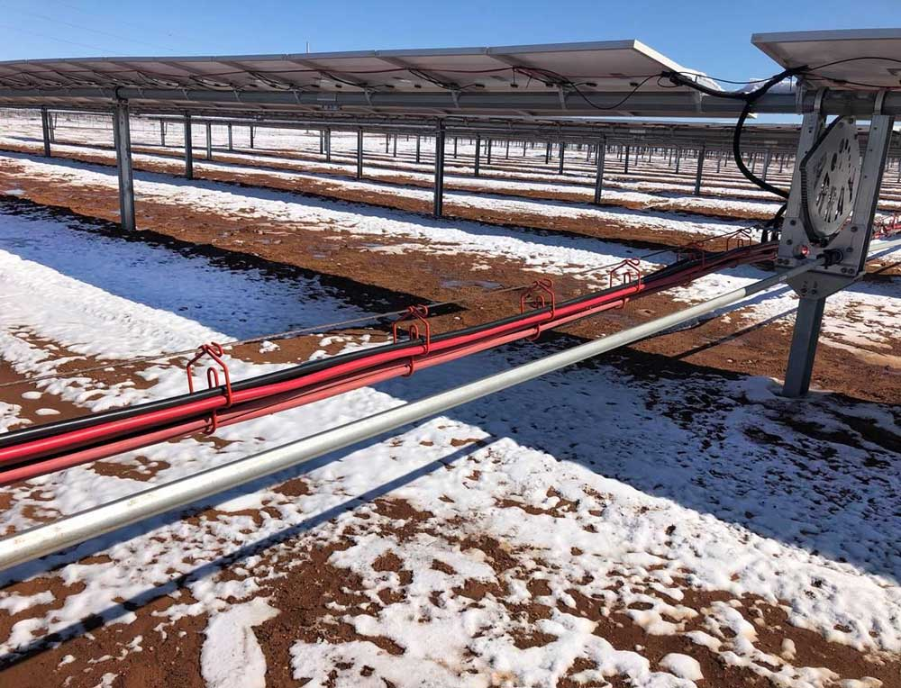 Standardizing Cable Management with CAB Solar Greatly Lowers Engineering Costs for Project Developers