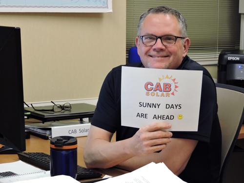 Tim Wedding, CAB Solar Sales Manager