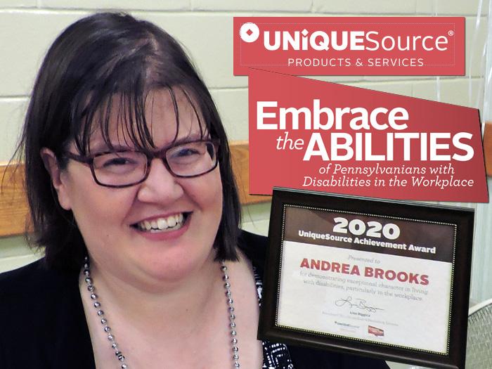 CAB's Andrea Brooks - 2020 Unique Source Achievement Award