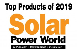Solar Power World Magazine Top Products of 2019